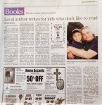 jacks tales newspaper author who writes for reluctant readers